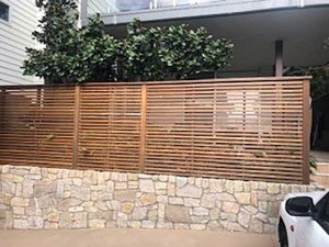 BEFORE: Avoca Beach, Elite Strata Fence Paint Job